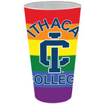 Glassware - 16oz. Pint, Frosted, Multi-Colored, All Over