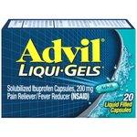 Advil Liquid Gel Caps, 20ct