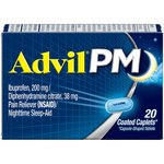 Advil Caplets PM, 20ct