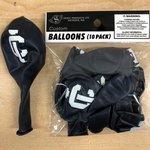 Balloons - Dark Blue w/ White IC Imprint 10pk