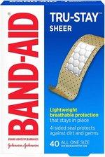 Bandaid Sheer One Size, 40ct