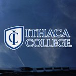 Ithaca College Decal - Stacked Institution Mark