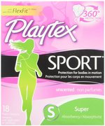 Playtex Sport Super Absorbency, 18ct