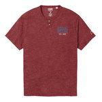 League Button Henley Tshirt