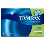 Tampax Super Absorbency, 10ct