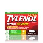Tylenol Sinus Severe, 24ct