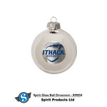 Ithaca College Glass Ball Ornament
