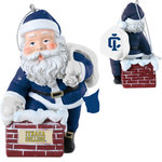 Ithaca College Rooftop Santa Ornament