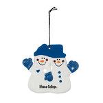 """4"""" Snowman Double Fun Ornament"""