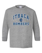 Ithaca Bombers Youth Long Sleeve Basic T-shirt