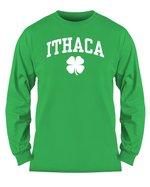 Ithaca Shamrock Long Sleeve T-shirt