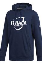 Adidas Team 19 Hooded Sweatshirt - Imprinted Design
